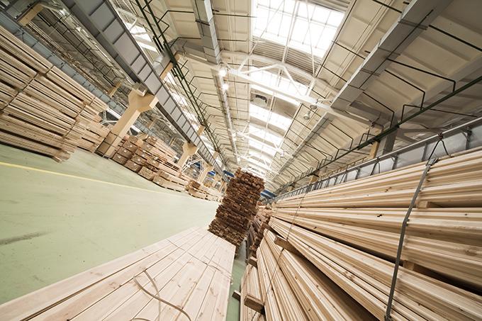 Distripack hout