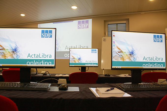 SDP ActaLibra Basis ActaLibra opleiding