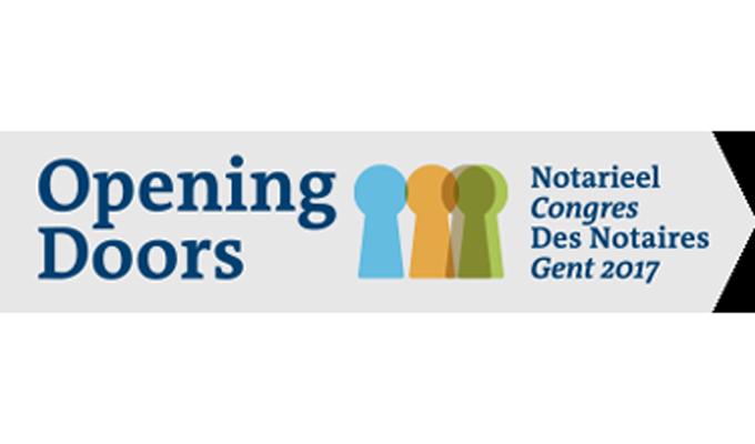 Notarieel congres Opening Doors 2017