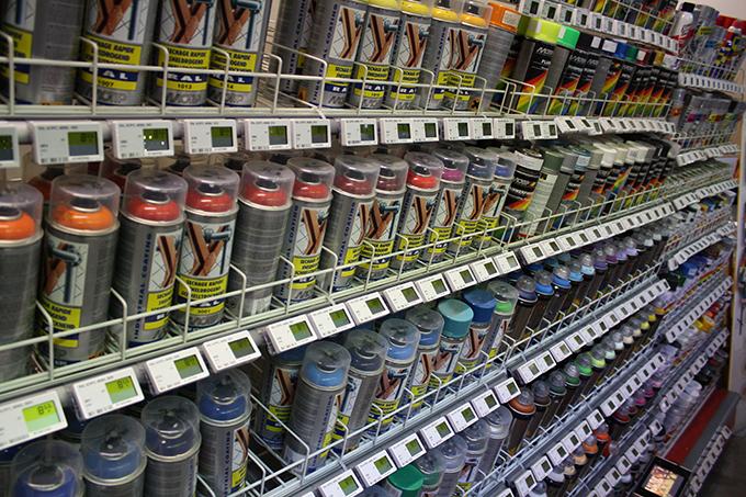 SDP Robinson doe-het-zelf winkel etikettering elektronische etiketten