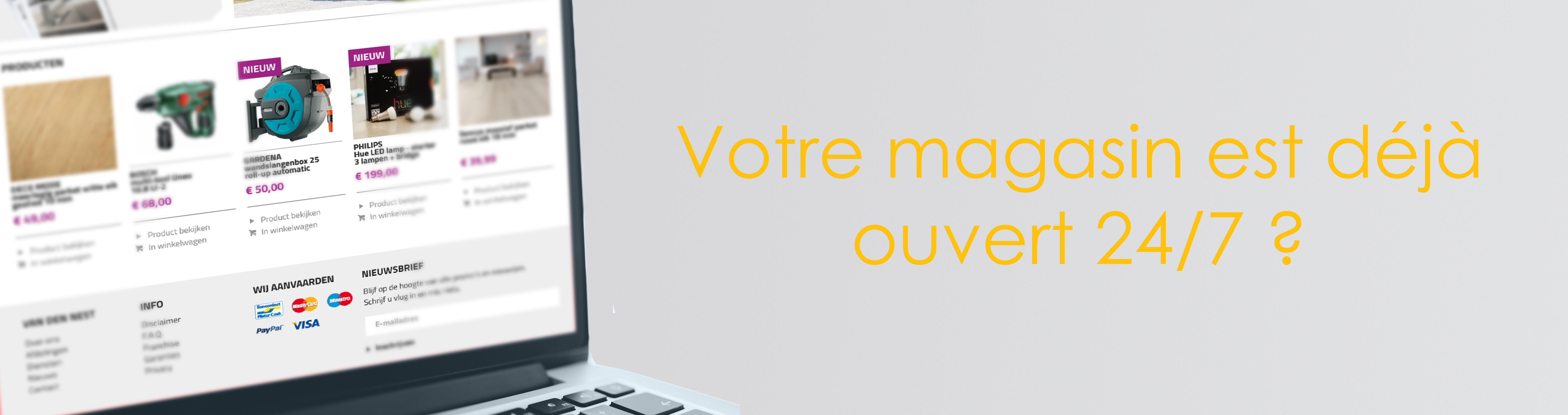 SDP e-commerce boutique internet Webshop