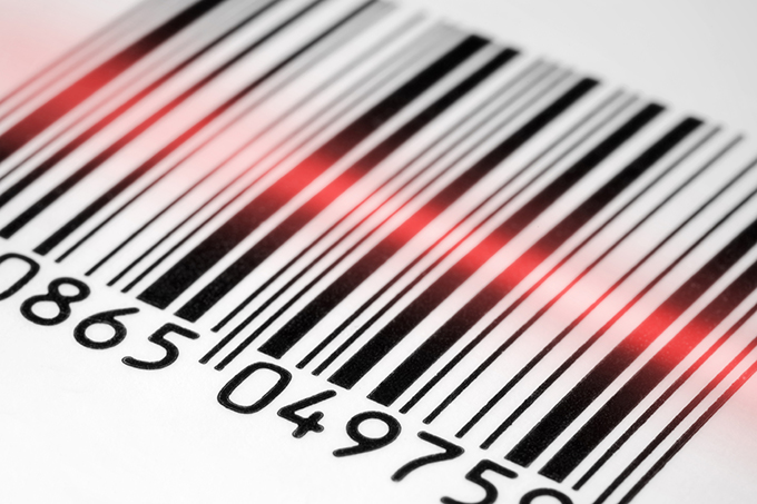 Robinson barcode scanning