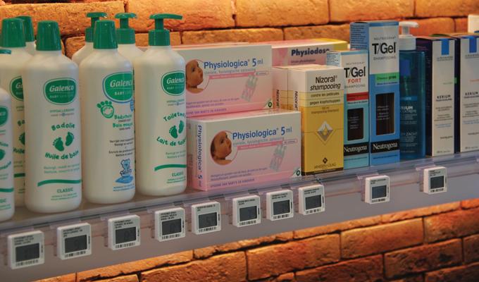 Beuckelaers apotheek elektronische etiketten
