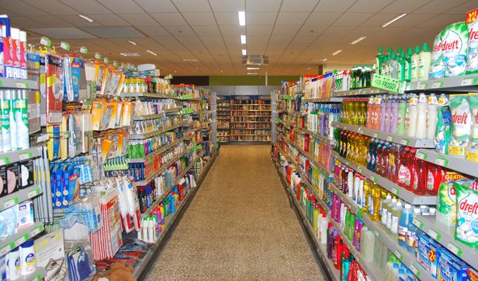 Speghelaere supermarkt