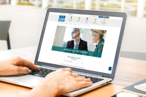 Nieuwe website voor SDP