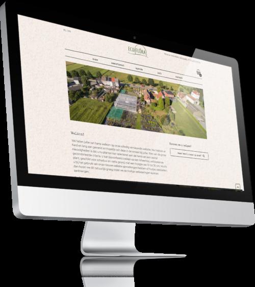Nieuwe website ecoflora